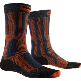 X-Socks Trek Pioneer Sukat Miehet, midnight blue/crimson red